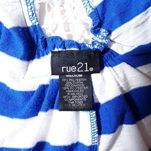 Rue 21 Tops - Dolman Sleeved Pullover Top w/Crotchet-Back